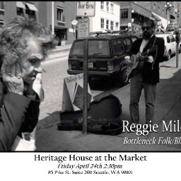 Reggie Miles at Heritage House at the Market