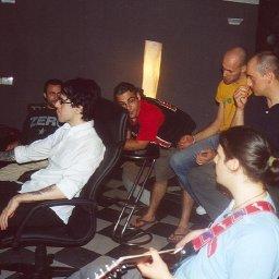 Recording in Studio Vertical Vision