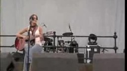 Jenny Beck live at the Beached festival 2004